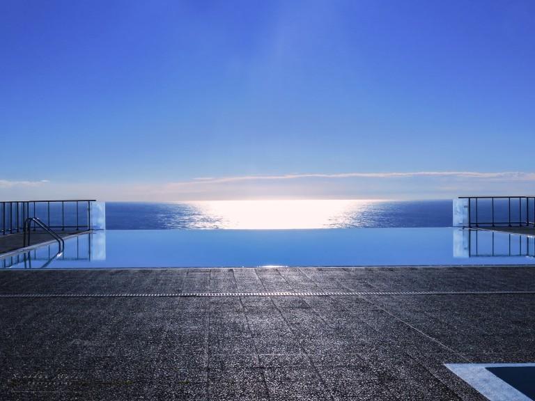 Infinity sunset, Monte-Carlo, Monaco.