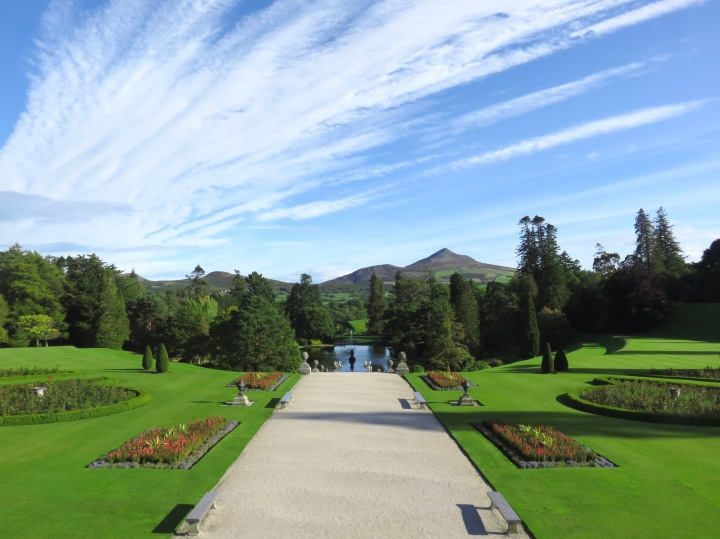 Powerscourt gardens & estate, Wicklow, Ireland.