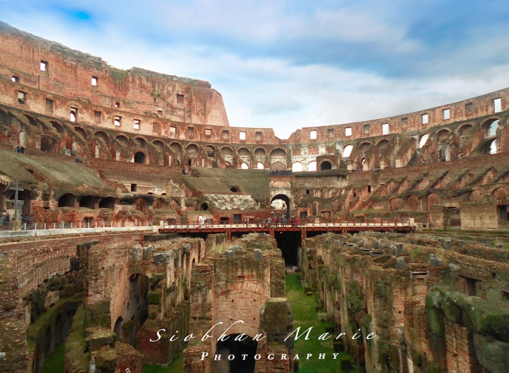 The Colosseum, Rome,Italy.